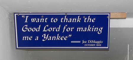 thank the Lord yankee